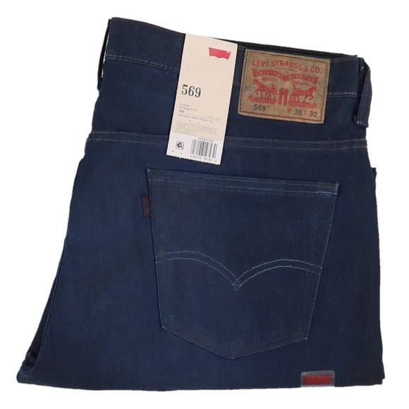 8a34670abaf Levi's Jeans | New Levis 569 Loose Straight Fit Size 36x34 | Poshmark